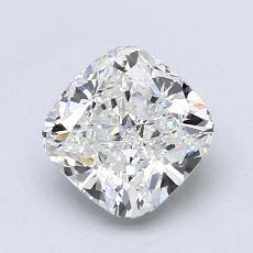 1.51-Carat Cushion Diamond Very Good I VVS1