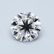 1.00-Carat Round Diamond Good E VS1