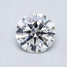 0.77 Carat 圆形 Diamond 理想 E VVS1