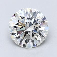 Recommended Stone #2: 1.66-Carat Round Cut