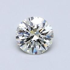 0.71-Carat Round Diamond Ideal J VVS2