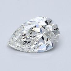 推薦鑽石 #1: 0.92 克拉梨形鑽石