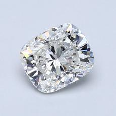 1,01-Carat Cushion Diamond Very Good H VVS2