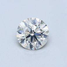 0,55 Carat Rond Diamond Idéale K SI2