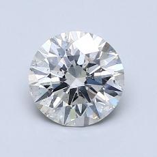 1.06 Carat 圆形 Diamond 理想 I SI2