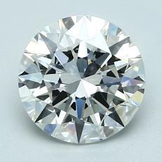 2,01 Carat Redondo Diamond Ideal F VVS1