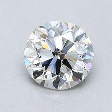 1.00-Carat Round Diamond Very Good I SI2