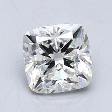 1.03-Carat Cushion Diamond Very Good F VVS2