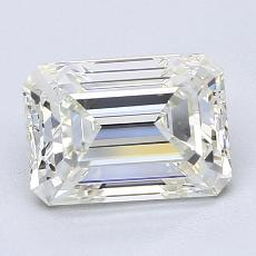 Current Stone: 2.00-Carat Emerald Cut