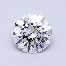 1.02 Carat 圆形 Diamond 理想 D VVS2