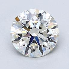 推薦鑽石 #1: 1.70  克拉圓形切割
