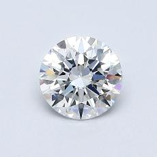Recommended Stone #4: 0,56-Carat Round Cut Diamond