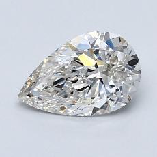 1.07 Carat 梨形 Diamond 非常好 G VVS1
