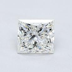 0,95-Carat Princess Diamond ASTOR G IF