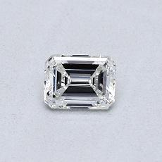Target Stone: 0.30-Carat Emerald Cut Diamond