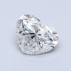Recommended Stone #4: 1,00-Carat Heart Cut Diamond