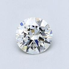 0,70-Carat Round Diamond Ideal G VS1
