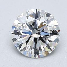 1.50-Carat Round Diamond Ideal F VS2
