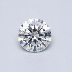 0.40 Carat 圓形 Diamond 理想 F SI1