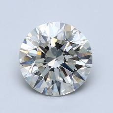 1.50 Carat 圓形 Diamond 理想 K SI2