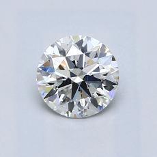 0.70 Carat 圓形 Diamond 理想 H VS2