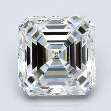 2,02-Carat Asscher Diamond Very Good H VS1