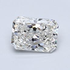 Pierre recommandée n°3: Diamant Taille radiant de 1,02carat