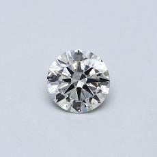 0,50-Carat Round Diamond Good G SI1