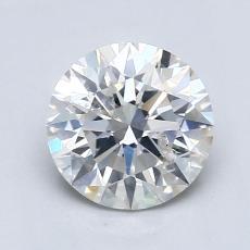 1.00 Carat 圆形 Diamond 理想 G SI2