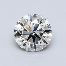 1.00 Carat 圆形 Diamond 非常好 K SI2