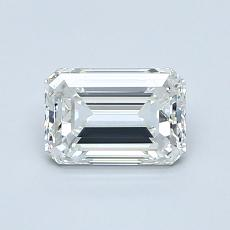 0.90 Carat 绿宝石 Diamond 非常好 H VVS1