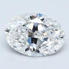 Recommended Stone #1: 1,35-Carat Oval Cut