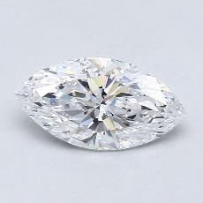 0,91-Carat Marquise Diamond Very Good D VS2