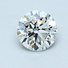 Recommended Stone #3: 1,00-Carat Round Cut