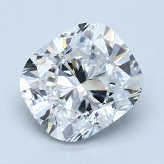 Pierre recommandée n°3: Diamant taille coussin 2,40 carats