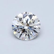 0.70-Carat Round Diamond Ideal E VS1