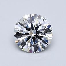 推荐宝石 2:1.09 克拉圆形切割