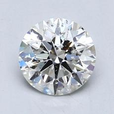 1.04 Carat 圆形 Diamond 理想 I SI2