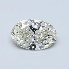 推薦鑽石 #3: 0.70 克拉橢圓形切割鑽石