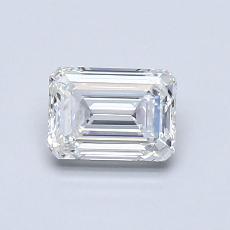 Recommended Stone #4: 0.70-Carat Emerald Cut Diamond