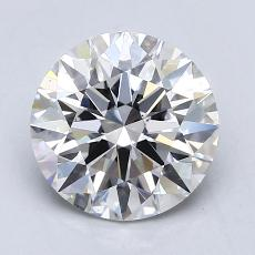 1,50 Carat Rond Diamond Idéale E VS1