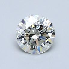 0.90 Carat 圓形 Diamond 理想 J VS2
