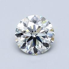 0.90 Carat Redondo Diamond Ideal I VS2