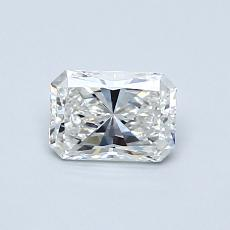 Recommended Stone #1: 0,53-Carat Radiant Cut Diamond