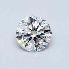 0.70 Carat Redondo Diamond Ideal I SI2