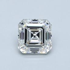 Recommended Stone #2: 0.90-Carat Asscher Cut Diamond