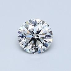 推荐宝石 3:0.65 克拉圆形切割