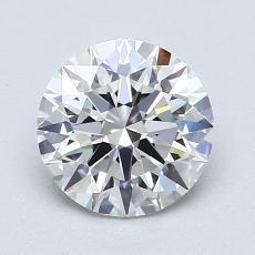1.02-Carat Round Diamond Ideal E IF