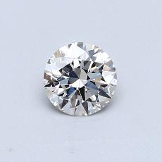 Recommended Stone #1: 0,44-Carat Round Cut Diamond