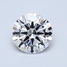 1.01-Carat Round Diamond Ideal E VVS2